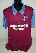 West Ham United Score Draw Centenary Reproduction Home Shirt XL Jersey