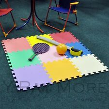 New 9 Pc Kids Childrens Baby Puzzle Game Interlocking Soft Foam Play Floor Mat