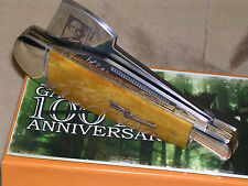 MARBLES 100TH ANNIVERSARY LIMITED EDITION HUNTING POCKET KNIFE W/ CASE !!!