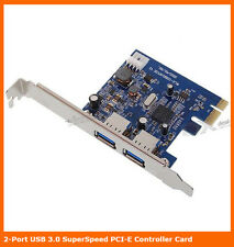 PCI Express 2 Ports USB 3.0 PCI-EX Card