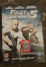FAST AND FURIOUS 5 DVD SEALED VIN DIESEL PAUL WALKER