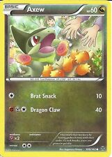 POKEMON CARD XY BREAK THROUGH - AXEW 108/162