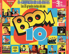 "HEROES DEL SILENCIO / ALASKA / LOQUILLO / ENIGMA / ACE OF BASE ""BOOM 10"" 3CD SET"