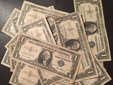 1957 1957A 1957B One Dollar Bill Silver Certificate Well Circulated Star Note