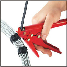 Steel Cable Tie Gun Tensioning Cutting Tool for Plastic Nylon Cable Tie Fastener