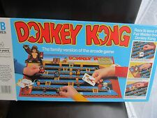 Donkey Kong Board Game 1982 Only Rubber Bands Missing! Good Condition Good Fun!