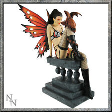 FLAME LARGE DRAGON EROTIC SEXY FAIRY NEMESIS NOW FIGUREINE MODEL RESIN BRAND NEW