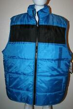 New Enyce Sean John 3XL 3XB 3X China Blue Puffer Vest Jacket $52 Ships Fast