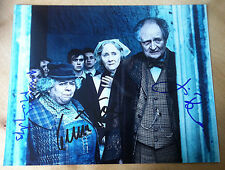 HARRY POTTER SIGNED PHOTO Jim Broadbent Miriam Margolyes Gemma Jones SIGNED x3
