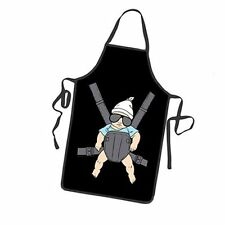 Creative Funny Comic Cool Baby in Sunglasses Party Cooking Apron