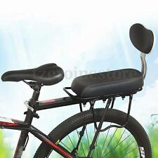 Cycling Bike Bicycle Rear Tail Saddles Seat Soft Comfort Children Kids Backrest