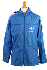 Adidas Vintage Retro Festival Raincoat Waterproof Windbreaker Size XL,XXL-RC23