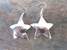 Star Fish .925 Silver Overlay Wire Earrings Made in Mexico Fair Trade Best Price