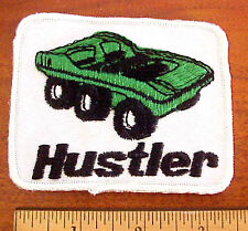 HUSTLER AMPHIBIOUS VEHICLE ATV EMBROIDERED PATCH
