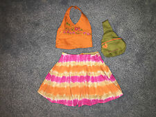American Girl  Doll Jess Clothing, Meet Outfit & backpack  HTF Excellent Cond.