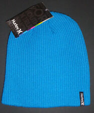 MENS HURLEY SHIPSHAPE BEANIE CAP ONE SIZE