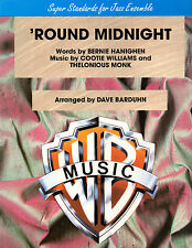'Round Midnight SONGBOOK SHEET MUSIC for Jazz Ensemble Thelonious Monk Brass +