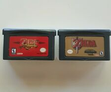 2x Legend of Zelda: A Link to the Past & Four Swords, The Minish Cap GBA Games