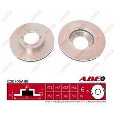 Bremsscheibe, 1 Stück ABE C30305ABE