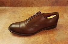 Allen Edmonds 'Park Avenue' Cap Toe Oxfords Brown Leather Size 9.5 D MSRP $385