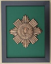 Large Scale Framed SCOTS GUARDS BADGE Plaque