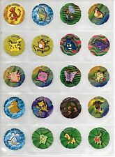 POKEMON Jumpers Pogs Salta Tazos Complete set of 50 - RARE AWESOME Collectibles
