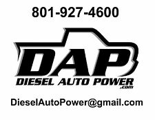 DAP 7x.010 7-HOLE Nozzles SAC +90HP spray 145* 370HP 91-98 12v Dodge RAM Diesel