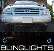 White Angel Eye Fog Lamps Halo Driving Light Kit for 2001-2007 Toyota Highlander