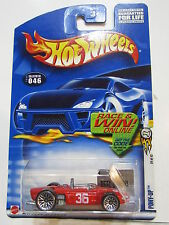 HOT WHEELS 2002 FERRARI 156 ON  PONY - UP #046 CARD - ERROR
