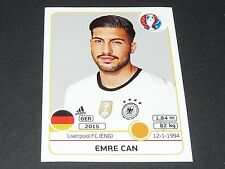 EMRE CAN LIVERPOOL ALLEMAGNE EXTRA STICKER PANINI FOOTBALL UEFA EURO 2016