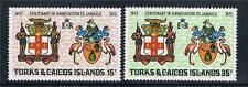 Turks & Caicos 1973 Annexation SG 379/80 MNH