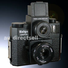 HOLGA 120GTLR 120 GTLR Twin Lens Reflex Medium Format Film Toy Camera LOMO Black