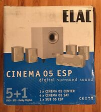 Elac Cinema ESP 5+1 Digital Surround Sound System