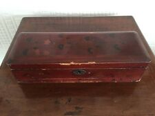 Lovely Shabby Chic Laquered Glove Box