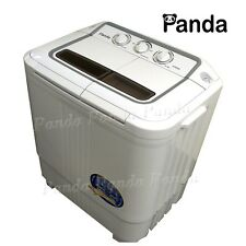 Panda Portable Mini Small Compact Washing Machine Washer w/ Spinner 7.9lb XPB36