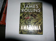Amazonia by James Rollins (2002, Hardcover) SIGNED 1st/1st RARE