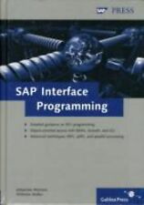 SAP Interface Programming: A comprehensive reference for RFC, BAPI, and JCo pro