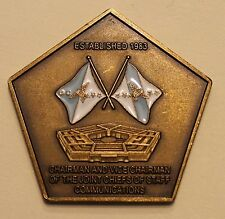 Chairman & Vice Chairman Joint Chiefs of Staff Communications Challenge Coin
