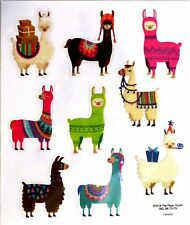 LLama So Cute PS Clear  Stickers