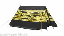 EASY CAMP IMAGE CRIME SCENE 2 PERSON TENT camping festival funky cool pyramid