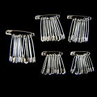 30-120Pcs Safety Pins Silver Assorted Small Medium Large Sewing Crafts Wedding