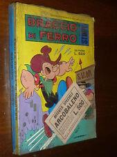 BRACCIO DI FERRO STORY E SOLDINO STORY BLISTERATI  BIANCONI ANNI 70 - MAGAZZINO