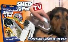 Battery Operated Cordless Shed Pal Pet Grooming Vacuum For Dog Cat