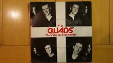 "The Quads - Theres Never Been a Night 1979 MOD 7"" single"