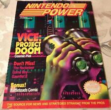 Vintage NINTENDO POWER Magazine Issue Vol. #24 Vice: Project Doom NES