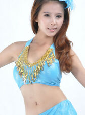 New  belly dance costume top bra Blouse Free size 9 colours