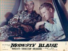 DIRK BOGARDE   MODESTY BLAISE 1966 VINTAGE LOBBY CARD #3