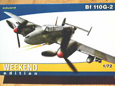 Eduard fin de semana Edition 1:72 Messerschmitt Bf 110g-2 Avión Model Kit