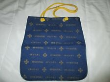 vintage EPIROTIKI GREEK CRUISE LINE tote bag travel holder rope handles