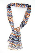 LADIES ABSTRACT INSPIRED COLORFUL UNQIUE AZTEC THEME SCARF RETRO (MS35)